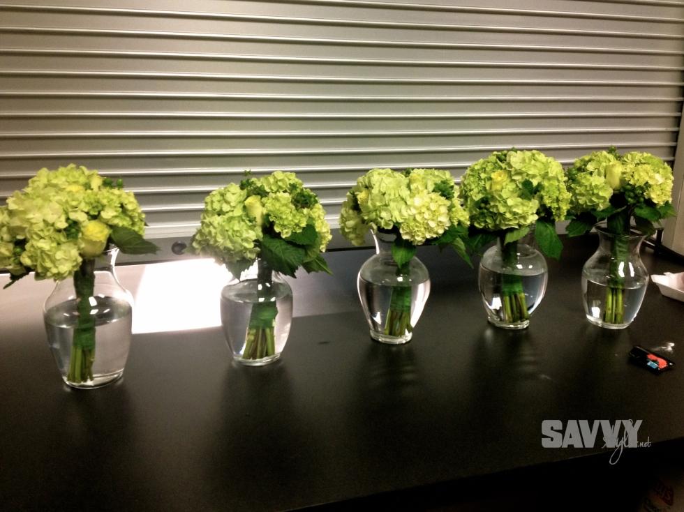 bridesmaids-bouquet-hydrangeas