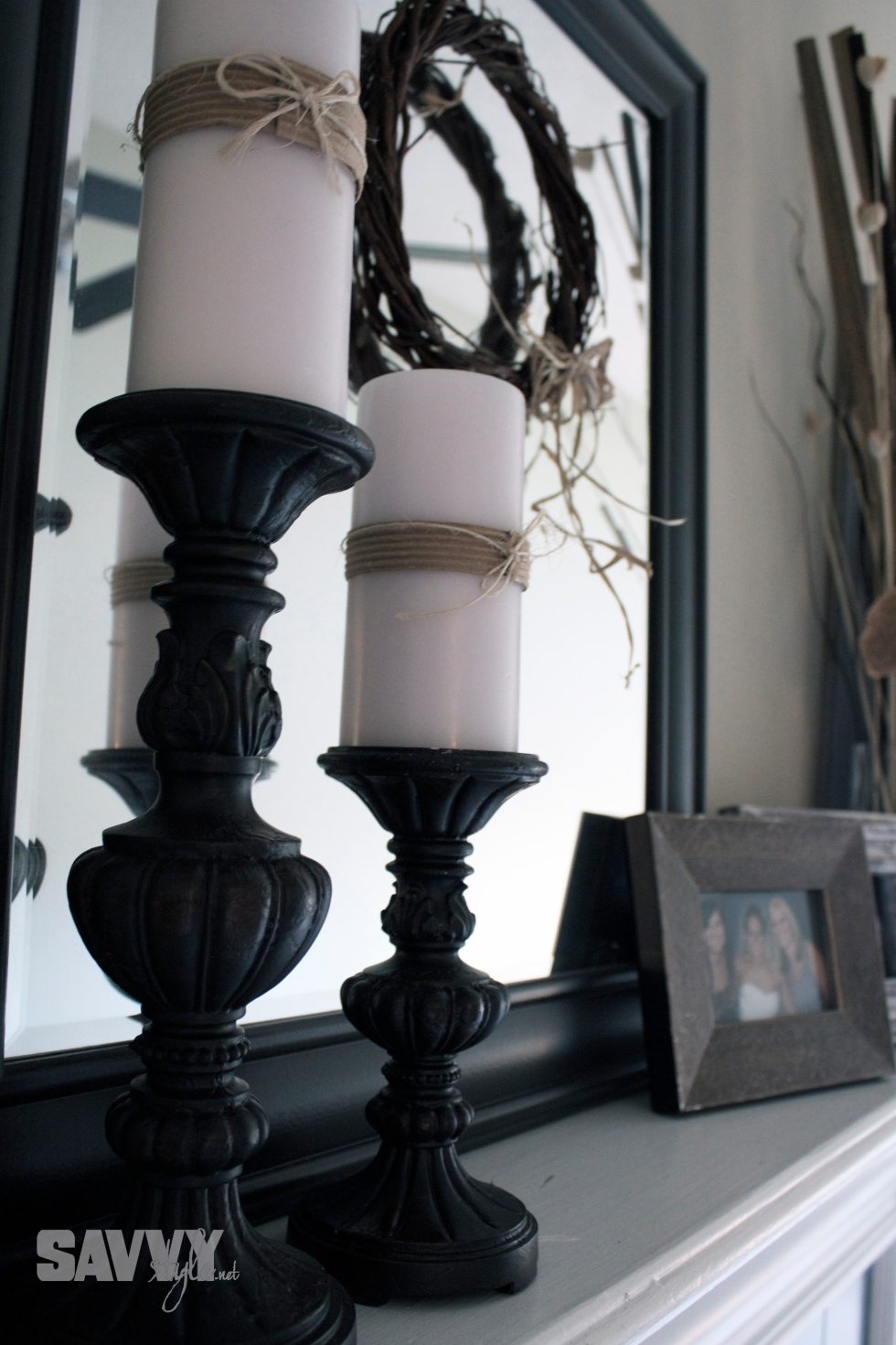 candle-sticks-mantle