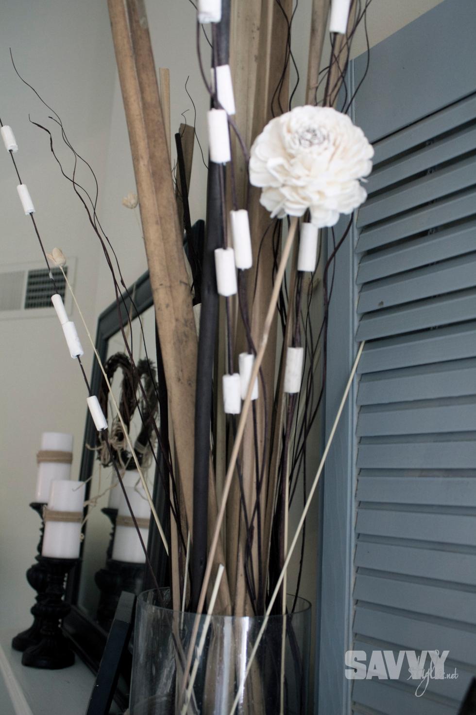 sticks-vase