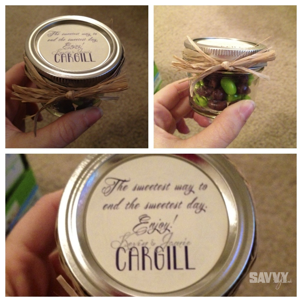 simple and inexpensive diy wedding favors mason jar treats savvy