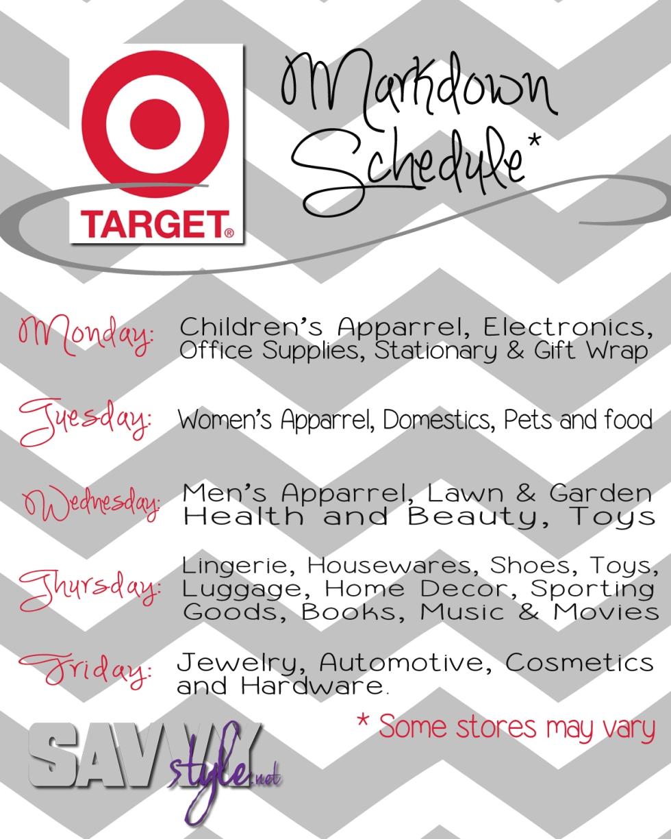 target-markdown-schedule