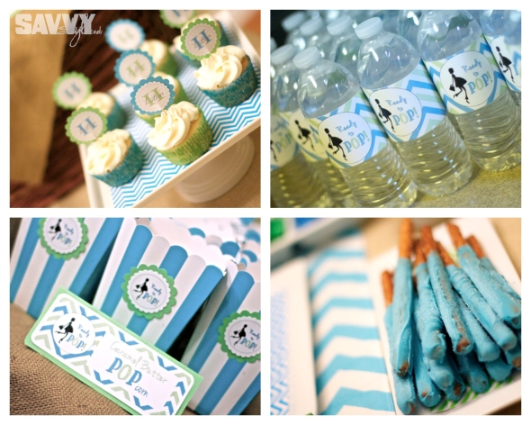 baby-shower-decor-blue-green