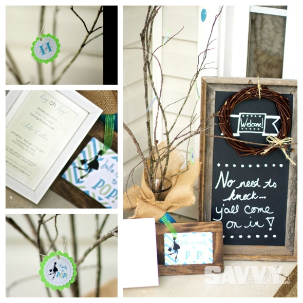 baby-shower-entrance-decor