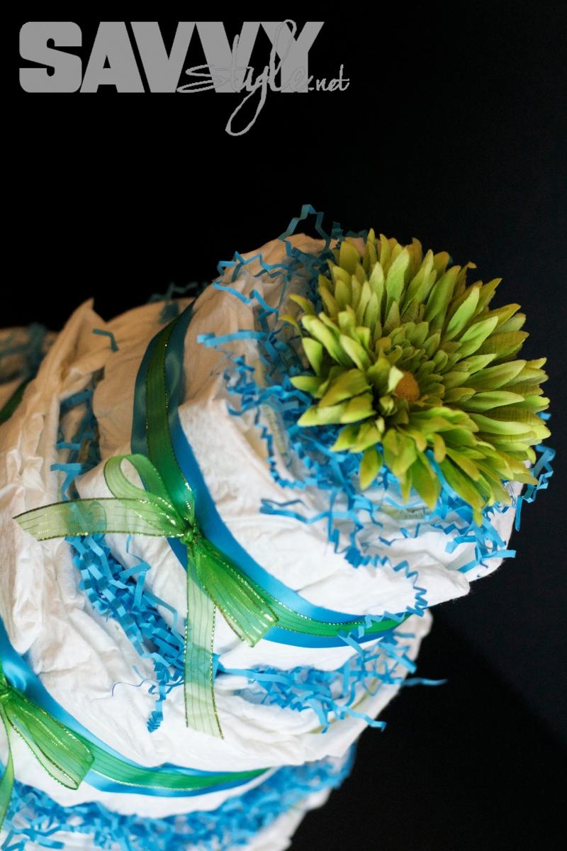 diy-diaper-cake