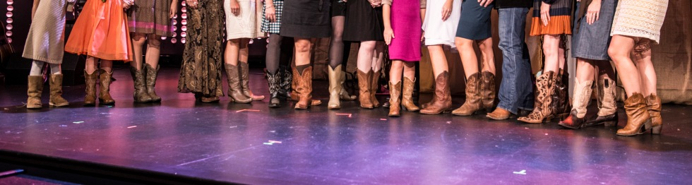 All the guests who sported their favorite boots! Photo Credit: http://lindsayhooten.com
